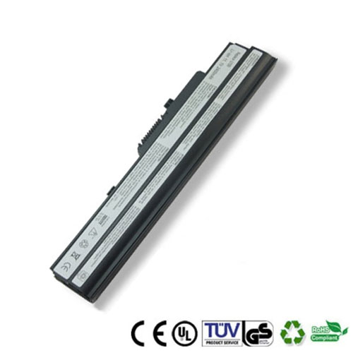 微星 MSI Microstar Wind U100 U100X U90 笔记本电池 超值热卖 6芯 4400mAh - 1001步数码港