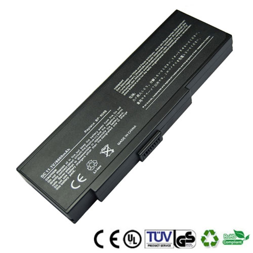 神达 MiTAC L6P-CG0511 BP-8089 8089P 高容量笔记本电池 超值热卖 9芯 6600mAh - 1001步数码港